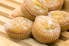 De muffins van de citroen Royalty-vrije Stock Afbeeldingen