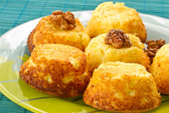 De muffins van de kaas Royalty-vrije Stock Afbeelding