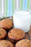 De muffins van de papaver Stock Afbeelding