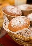 De muffins van de peperkoek stock afbeeldingen
