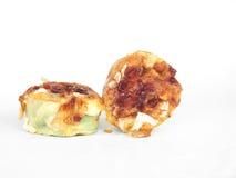 De muffins van deegwaren en van de kaas Stock Foto's