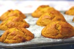 De Muffins van het baksel Royalty-vrije Stock Afbeeldingen