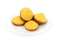 De muffins van het graan op plaat Royalty-vrije Stock Foto