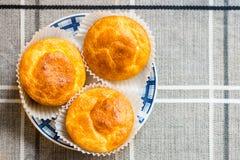De muffins van het graanbrood Stock Afbeelding