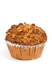 De Muffins van perzikgranola Stock Afbeelding