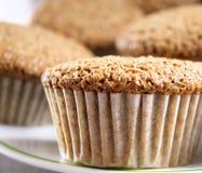 De Muffins van zemelen royalty-vrije stock fotografie