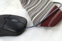 De muis en de band van de computer Stock Afbeeldingen