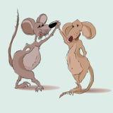 De muis van Dansing Stock Afbeelding