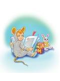 De muis van Ittle Stock Afbeeldingen
