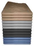 De multi broeken van kleurenjeans Royalty-vrije Stock Afbeeldingen