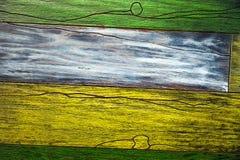 De multi-colored tegel kijkt als een boom Het ontwerpconcept van royalty-vrije stock foto