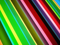 De multi Gekleurde Achtergrond van het Patroon van de Streep Stock Fotografie