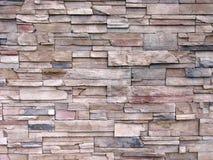 De multi-gestemde Decoratieve Muur van de Steen Stock Foto's