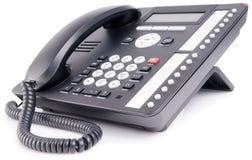 De multi-knooptelefoon van het bureau Stock Afbeeldingen