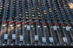 De multi Mixer van het Kanaal Stock Afbeelding
