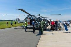 De multifunctionele militaire Lynx Mk88A van helikopterwestland stock foto