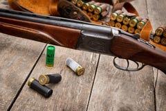 De munitie van de jager Stock Afbeeldingen