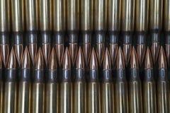 308. de munitie van het kalibergeweer Stock Fotografie