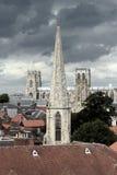 De Munster van York Stock Afbeeldingen