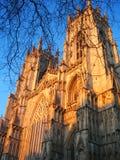 De munster van York in York, Engeland. Royalty-vrije Stock Afbeelding