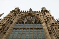 De Munsterkathedraal van York, York Engeland het UK Royalty-vrije Stock Afbeelding