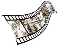 De munt is in een schot. Royalty-vrije Stock Afbeeldingen