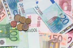 De Munt van de Europese Unie Royalty-vrije Stock Foto's