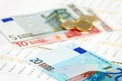 De munt van de Europese Unie Royalty-vrije Stock Afbeelding