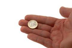 De munt van de Europese Unie Stock Foto's
