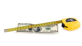 De munt van de honderd rekeningsV.S. Stock Foto