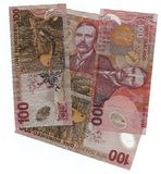 De munt van Nieuw Zeeland Stock Foto