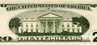 De muntbankbiljet van de V.S. Royalty-vrije Stock Afbeeldingen