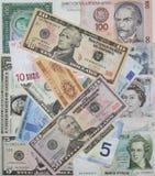 De munten van de wereld Royalty-vrije Stock Fotografie