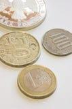 De muntstukken van de uitwisseling #1 Stock Foto's