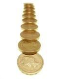 De muntstukken van het pond Royalty-vrije Stock Fotografie