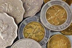 De muntstukken van Hongkong royalty-vrije stock fotografie