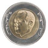 De muntstukken van Marokko Royalty-vrije Stock Foto's