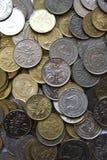 De muntstukken van Singapore Royalty-vrije Stock Afbeeldingen