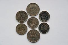 De muntstukken van Vietnam 1974 - 2003 Royalty-vrije Stock Foto's