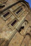 De muren van de kathedraal Svetitskhoveli Mtskheta georgië Stock Foto's