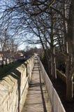 De Muren van de Stad van York Royalty-vrije Stock Foto