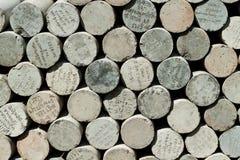 De muren van de steen Royalty-vrije Stock Afbeeldingen