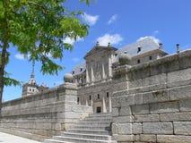 De Muren van de steen van Gr Escorial Stock Afbeelding