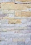 De muren van de textuursteen, Bovenkant die een muur bouwen Royalty-vrije Stock Foto's