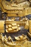 De muren van het beeldhouwwerklandschap Royalty-vrije Stock Afbeelding