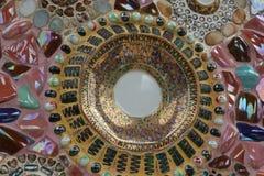 De muren van het het Mirakelglas van Thailand Stock Foto's