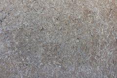 De muren van het huis worden gecreeerd van natuurlijke grond Kleihuis van klei, stro, en schil wordt gemaakt die stock foto