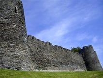 In de muren van het kasteel Royalty-vrije Stock Afbeeldingen