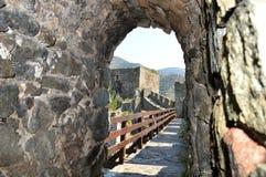 De muren van het oude fort royalty-vrije stock foto's