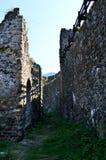 De muren van het oude fort royalty-vrije stock afbeelding